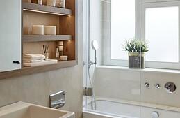 8 astuces gain de place dans la salle de bains