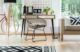 Je veux mon bureau dans le salon